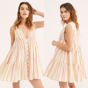 NWT Free People Do It Again Mini Dress
